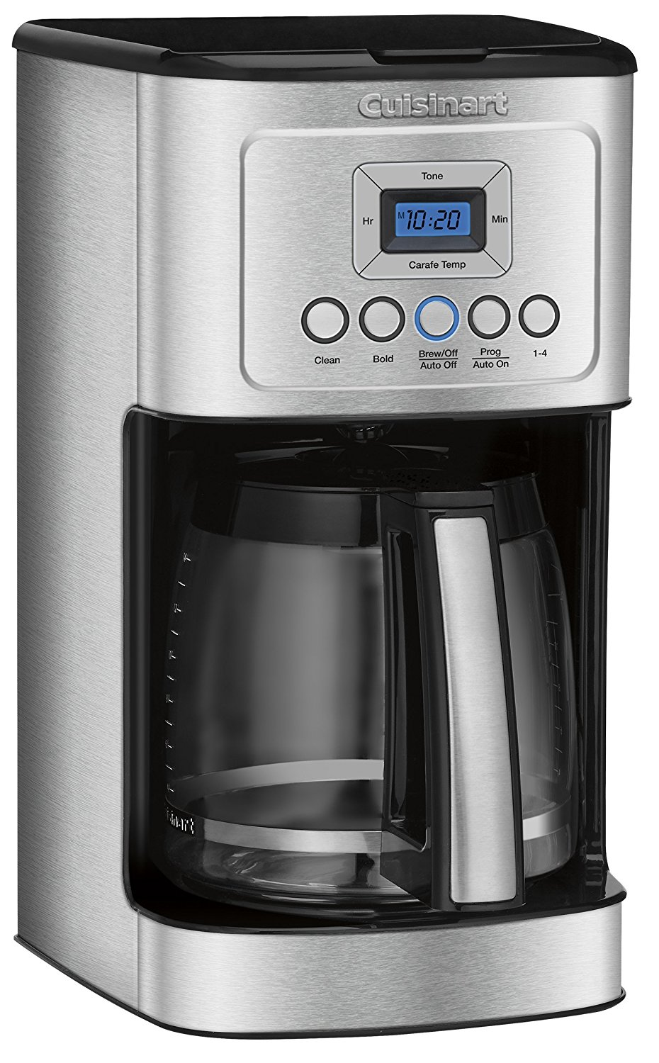 Cuisinart Coffee Maker Internal Carafe : Cuisinart DCC-3200 14-Cup Glass Carafe with Stainless Steel Handle Programmable Coffeemaker ...